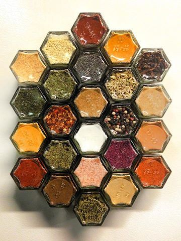 Unusual Gift: Magnetic Spice Rack You Choose From 50+ Organic Spices, By  SpiceExpressions