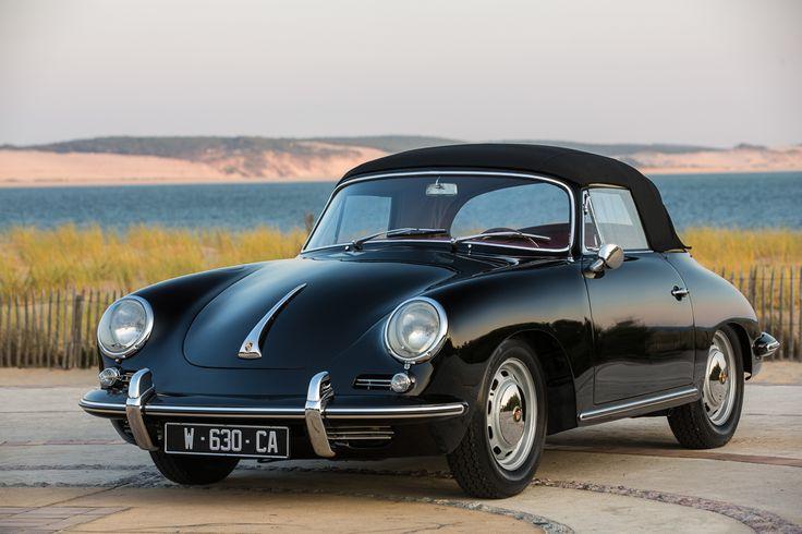 PORSCHE 356 C CABRIOLET NOIRE                                                                                                                                                                                 Plus