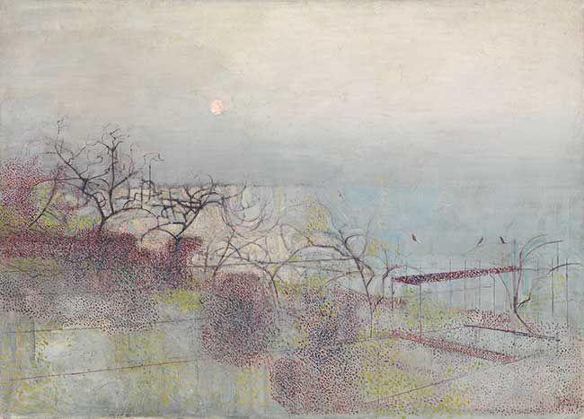 The Hanging Gardens of Hammersmith, 1944-7 Victor Pasmore. Tate custom print.
