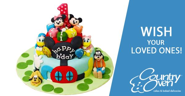 Make your Kids birthday special with these customized cartoons cakes. http://www.countryoven.in/Cakes/Online-Delivery