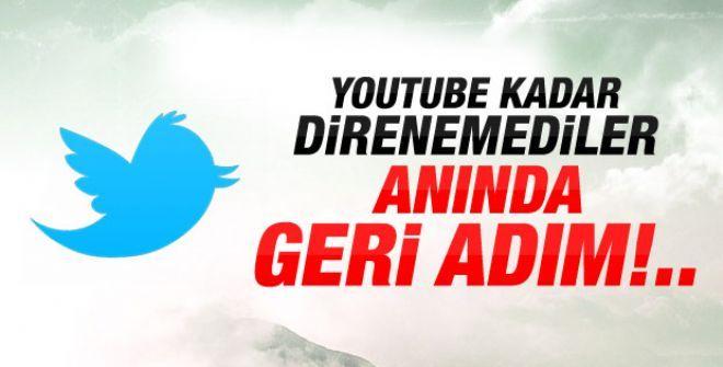Twitter geri adım attı! Türkiye'ye geldiler!