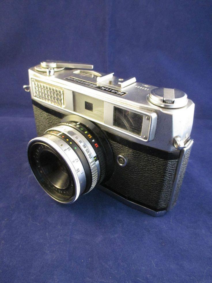Vintage Rank Mamiya 35mm Camera - Rangefinder 1963