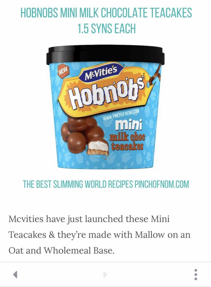 Slimming World Friendly Snack Hobnob Mini Tea Cakes Syns