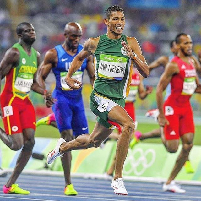 Will never forget witnessing Wayde van Niekerk's ( @waydedreamer ) inspirational story and race during the 2016 Olympics. Regrammed from @somosrunners #waydevanniekerk #tbt #running #athlete #runner #adventure #wanderlust #olympics #travel #explore #southafrica #inspiration #motivation #instagram #instadaily #rio #rio2016 #brasil #fitness #health #exercise