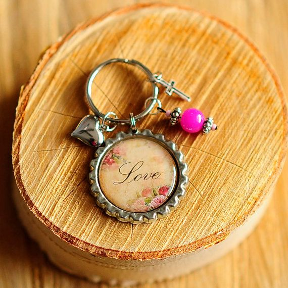 Key chain  high resolution image epoxy dome by CreativeHands4U