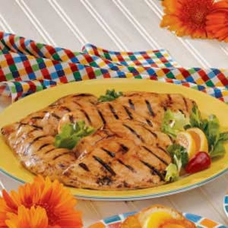 Maple Barbecued Chicken Recipe. 5 ingrendient by toh