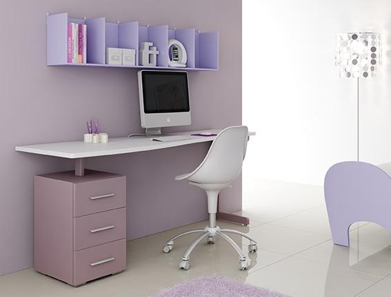 #Arredamento #Cameretta Moretti Compact: Catalogo Start Solutions 2013 >> LH35 #scrivania #mensole http://www.moretticompact.it/start.htm