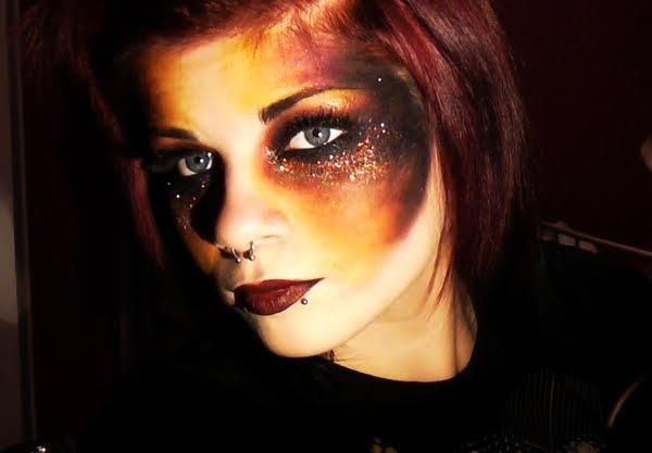 Fire Makeup
