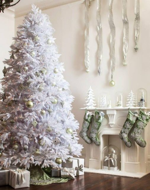 Vintage Style White Christmas Tree from Balsam Hill