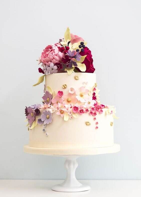CAKE | FEEDBACK INSPIRATION 16 floral wedding cakes with the wow factor! V …  – Mywsite