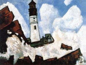 The Lighthouse - Marsden Hartley