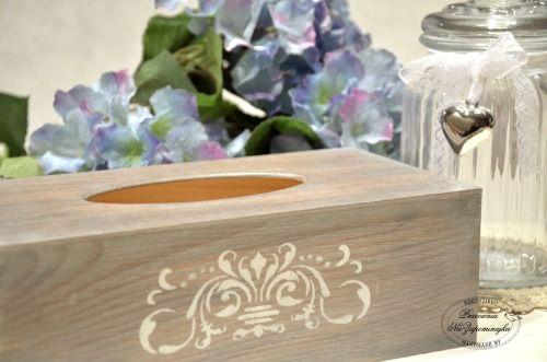 Chustecznik- pudełko na chusteczki w Pracownia NieZapominajka na DaWanda.com