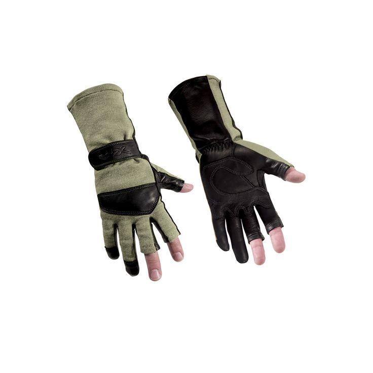 Легкие летные перчатки Wiley X ARIES G312 с манжетом