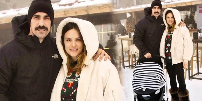 İbrahim çelikkol Has Gone On A Holiday Together With His Wife Mihre çelikkol And Their Newborn Baby Boy Baby Boy Newborn The Handsome Family Becoming A Father