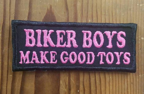 Check out this item in my Etsy shop https://www.etsy.com/listing/264506882/biker-boys-patch