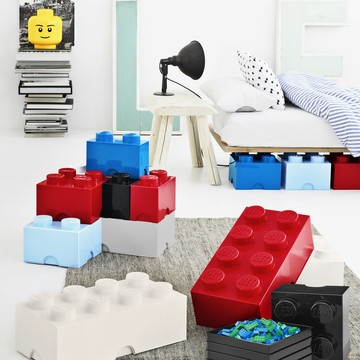 Lego Room - storage bins can be bought on line