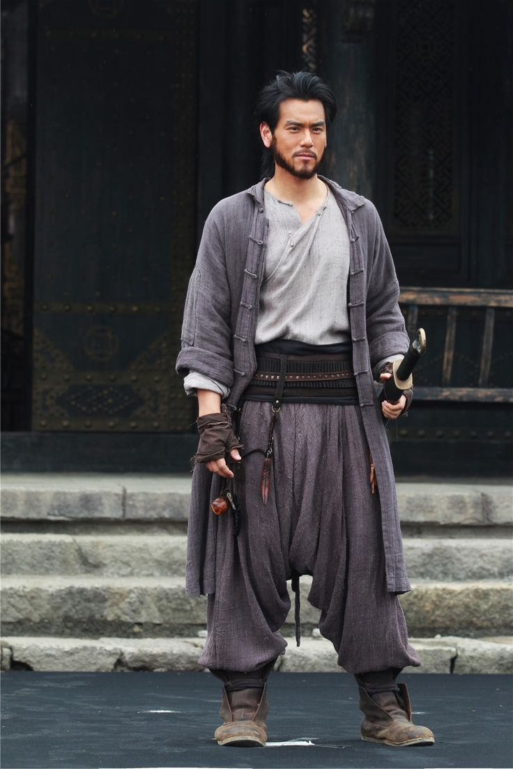 """The 36th Blogger of Shaolin.  Eddie Peng in """"Call of Heroes""""."""