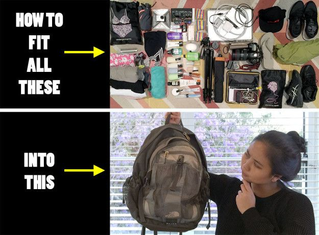 With another trip coming up, I decided to challenge myself and see if I could travel with carry-on luggage only to avoid the risk of my things going missing again. | This Is How I Survived 10 Days Overseas With A Tiny Backpack