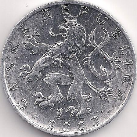 Motivseite: Münze-Europa-Mitteleuropa-Tschechien-Koruna-0.50-1993-2008