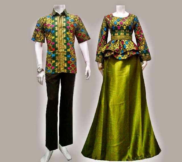 Baju Batik Gamis Modern Songket Prodo Madi African Fashion