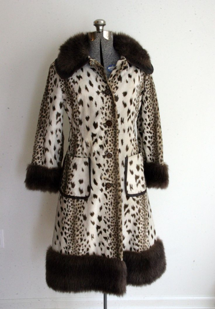 Old Fur Coats for Sale | SALE 25 PERCENT OFF Vintage 60s Mod Lykafur for Priscilla Modes Fur ...