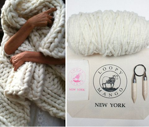 DIY Kit - Nantucket Throw 28x40 (70 cmx100 cm ...