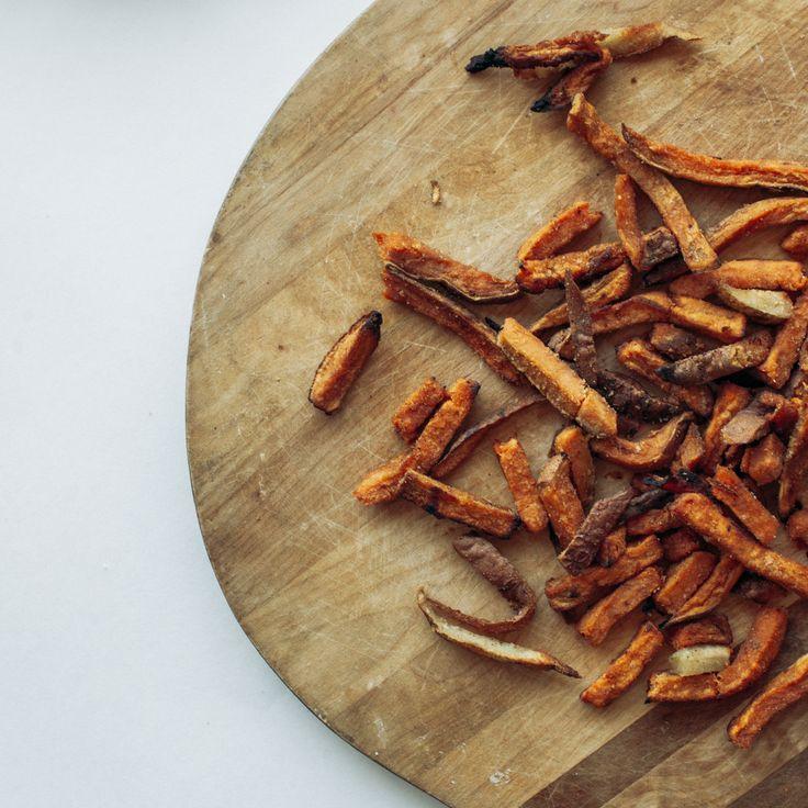 Handcut sweet potato fries