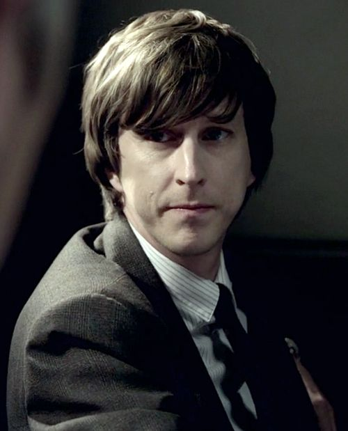 Lee Ingleby as Det. Sgt. John Bacchus in Inspector George Gently