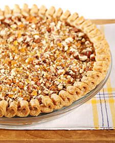 This recipe for pumpkin pecan-praline pie is courtesy of chef Paul Bergeron.