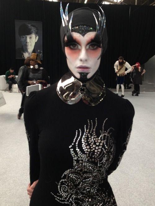 """Makeup Artists Meet"" makeup Website    roshar:    The look I created for IMATS NY"