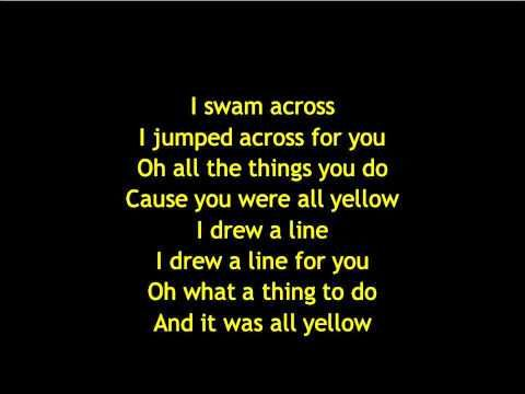 Yellow- Coldplay  Convinced this is God's love song to me. Played it on my wedding day.