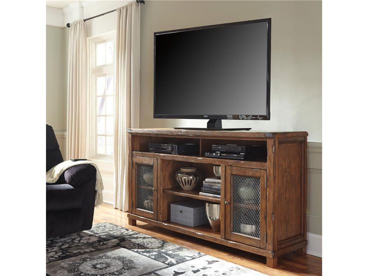 shop for signature design by ashley xl tv stand wfireplace option and other home console tables at short furniture co in litchfield il