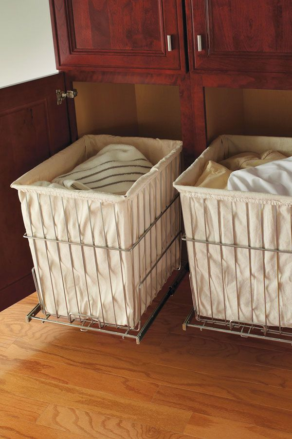 diamond at lowes cabinet interiors linen closet with removable hamper