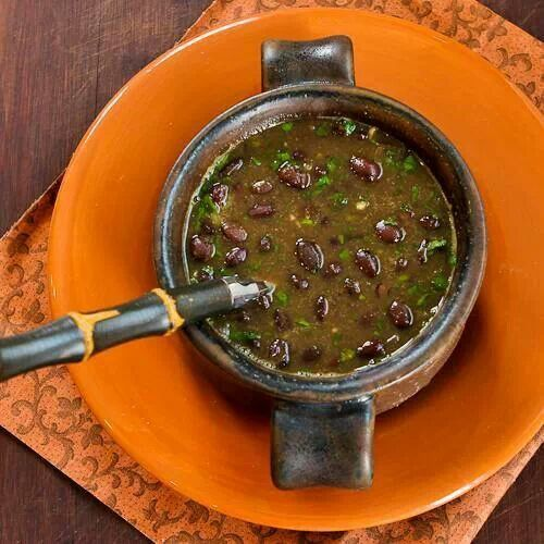 Spicy Vegan Black Bean Cilantro soup | Main Dishes - Recipes | Pinte ...