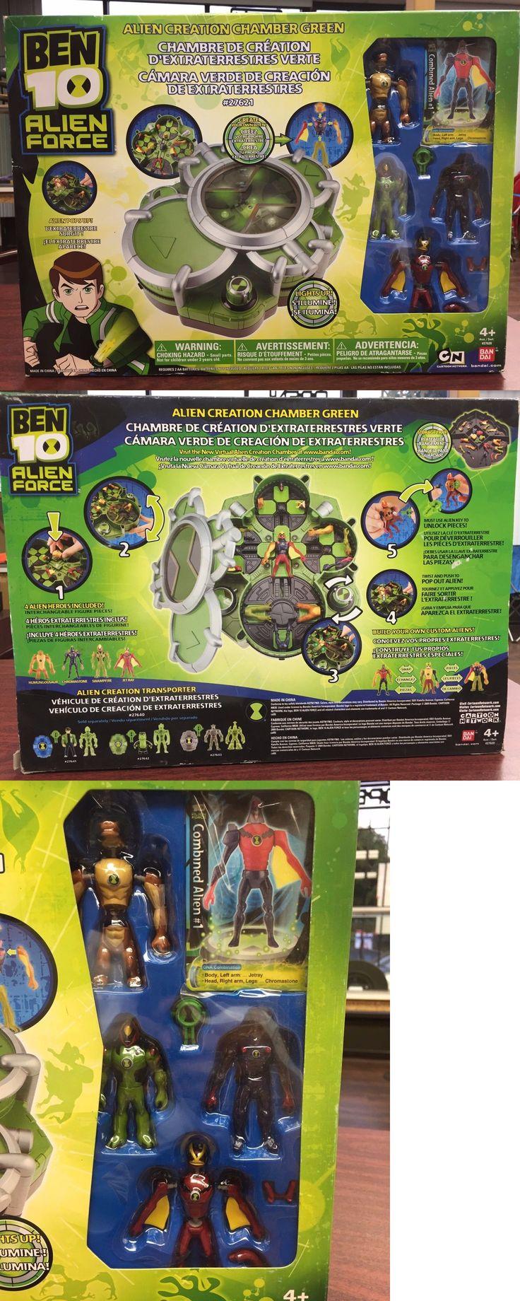 Ben 10 152906: Ben 10 Alien Force Alien Creation Chamber Green New # Bandai Figures -> BUY IT NOW ONLY: $34.99 on eBay!