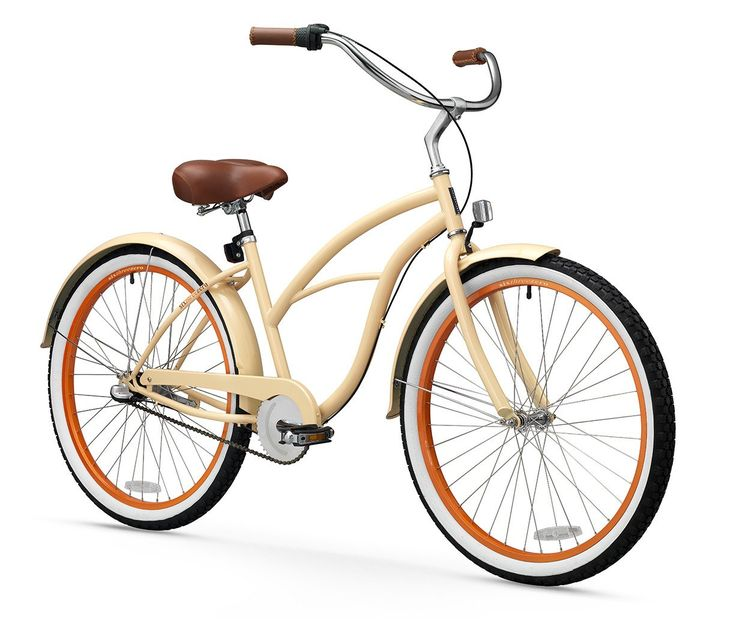 "sixthreezero Scholar Woman Three Speed 26"" Beach Cruiser Bike"