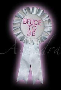 Bride To Be, Taşlı Rozet Bekarlığa veda partisi aksesuarı