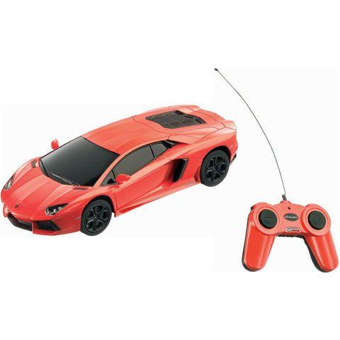 Lamborghini Aventador radiocommandée 1/24  - marque : Mondo Réplique à lidentique de la Lamborghini Aventador... prix : 14.99 EUR €  chez Auchan Jeux et Jouets #Mondo #AuchanJeuxetJouets