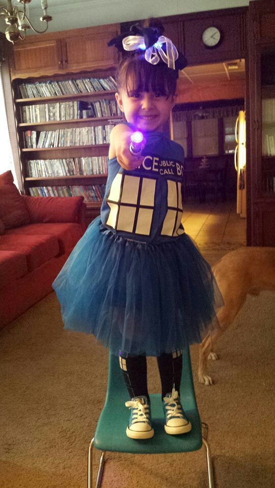 Maeve wants to be the TARDIS I think we could work with this as a basic design.  Adult TARDIS Cosplay is just too adult.