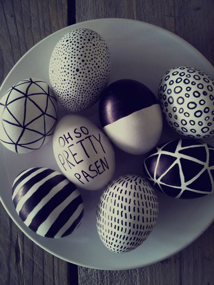 Make Room: DIY: Easter egg drawings