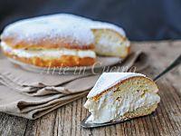 Torta brioche fiocco di neve ricetta facile | Arte in Cucina