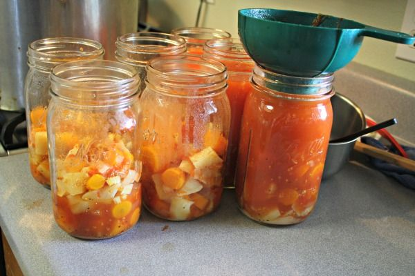 Canning Soup. How to adapt your recipe to make it safe for home canning.