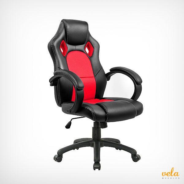 Cómoda y económica silla gamer para los más jugones. No tienes excusas para cambiar tu vieja silla de ordenador. Echa un vistazo ahora a los precios