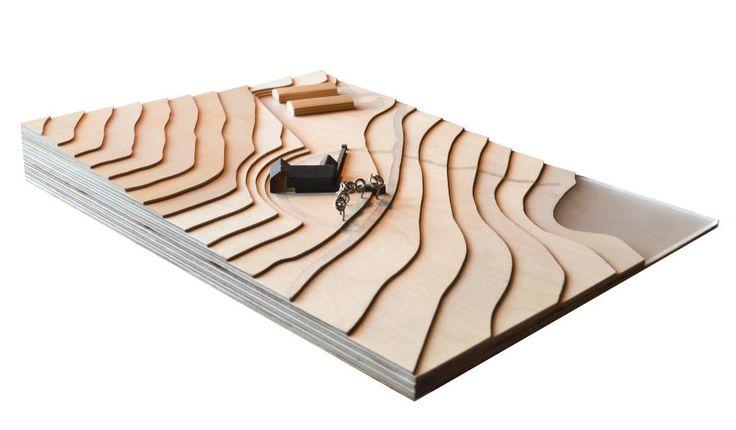 Banchory Farmhouse, Scotland - concept model