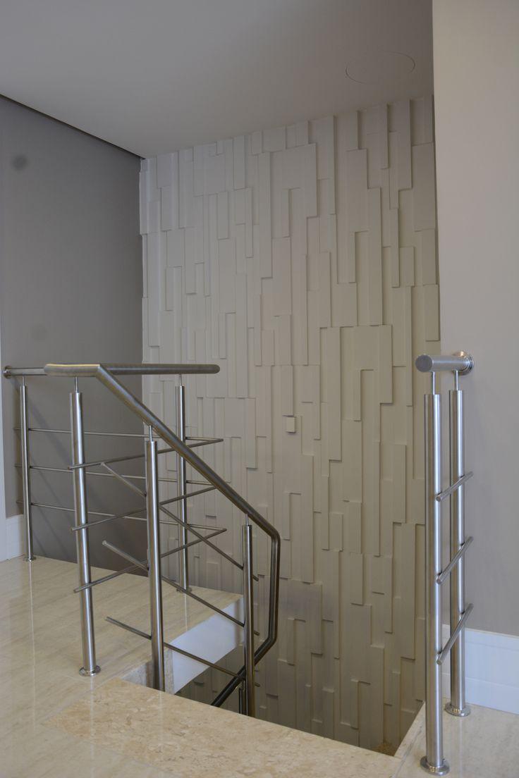 Revestimento Castellato para vão da escada