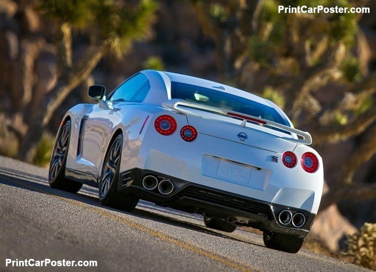 Nissan GT-R 2014 poster, #poster, #mousepad, #tshirt, #printcarposter