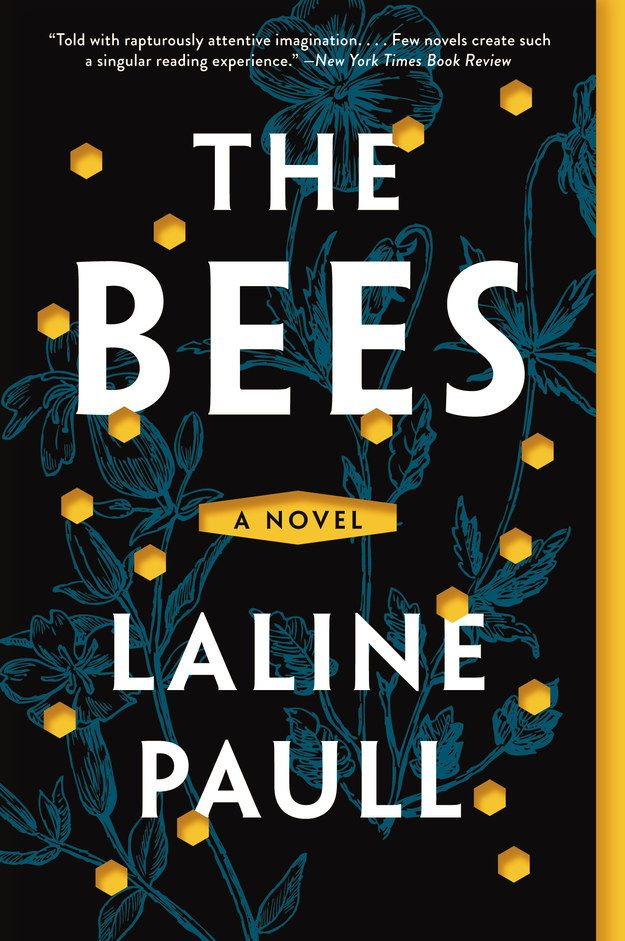 The Bees by Laline Paull | 34 Most Beautiful Book Covers of 2015 #buzzfeed #books #design