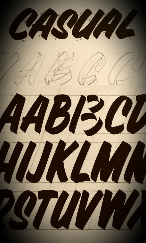 84 best sign paintinghand lettering images on pinterest letters abc of sign painting volume 2 pierre tardif casual lettering dvd pierre tardif lettering by hand for over 25 years malvernweather Gallery