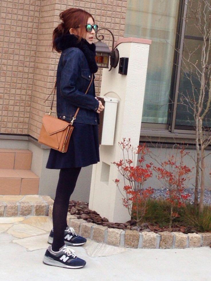 mayumiさんのスニーカー「JOURNAL STANDARD NEW BALANCE M997 MADE IN USA ◆」を使ったコーディネート