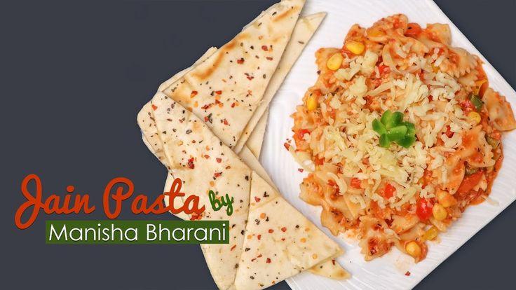 Exotic Creamy Pasta - Easy To Make Jain Creamy Pasta - Red Sauce Creamy ...